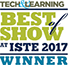 Tech & Learning Magazine ISTE Best of Show 2017