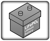 ups system lithium battery