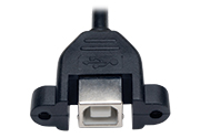USB B (Female) - Panel Mount