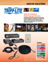 Display solutions brochure