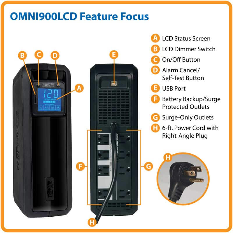 OMNI900LCD highlights