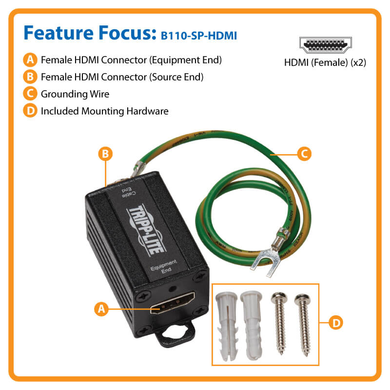 B110-SP-HDMI highlights