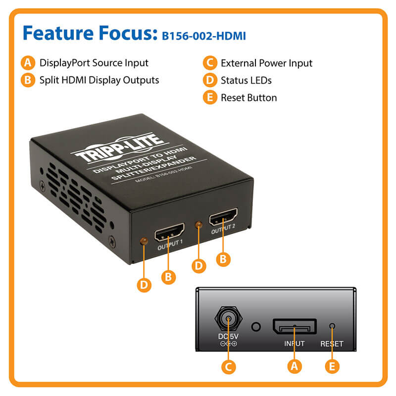 B156-002-HDMI highlights