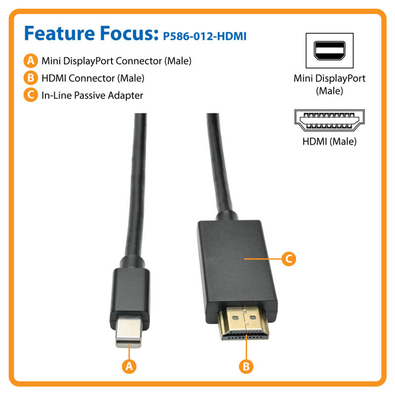 P586-012-HDMI highlights