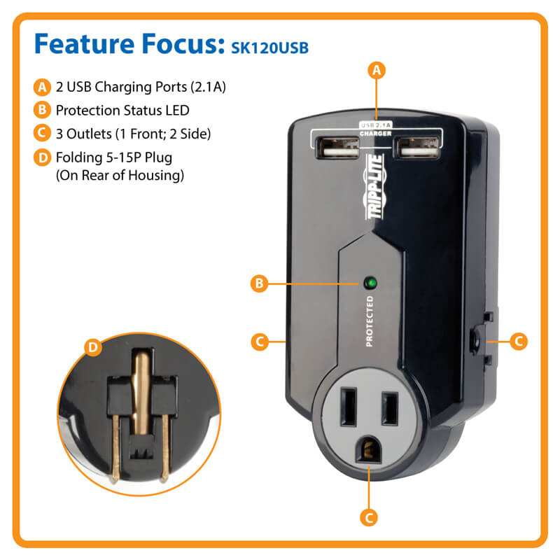 SK120USB highlights