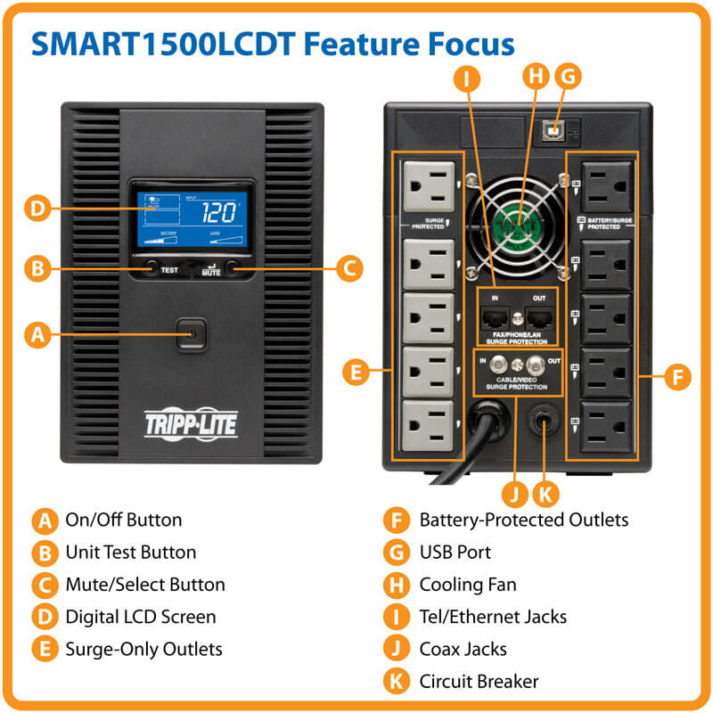 SMART1500LCDT highlights