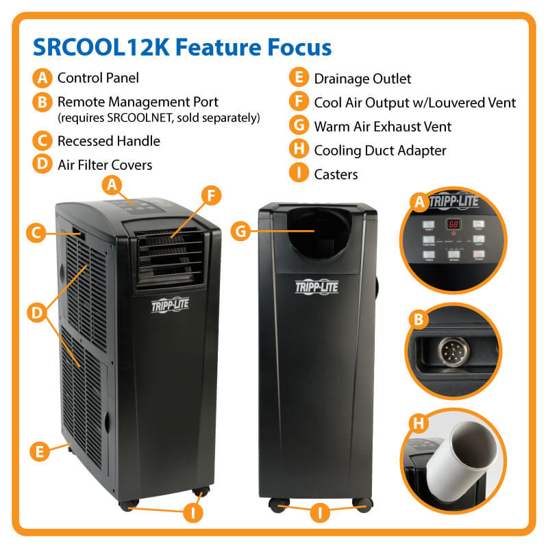ceiling/window ventilation kit and owner's manual  srcool12k feature  highlights