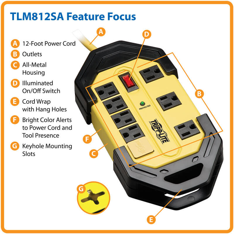 TLM812SA Feature Highlights