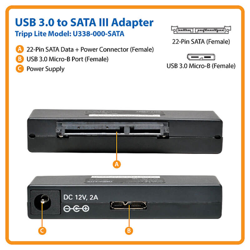 U338-000-SATA highlights
