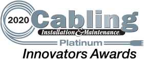 2020 cabling installation & maintenance platinum innovators award
