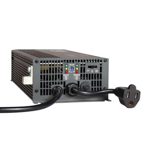 Tripp Lite Ultra-Compact Car Inverter 100W 12V CLA 120V 2 USB Charging Ports 1 O