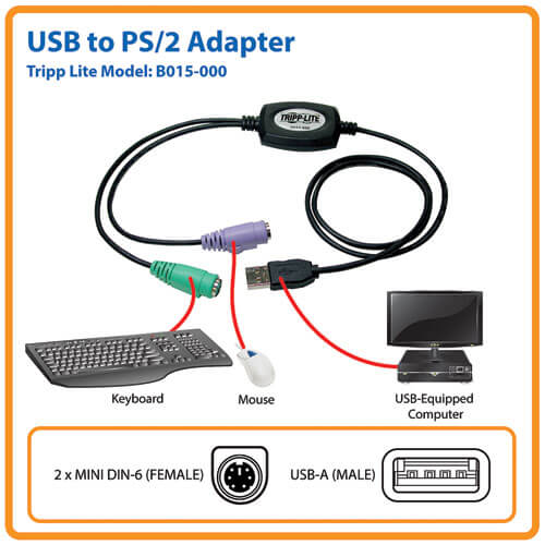 B015-000 other view large image | KVM Switch Accessories
