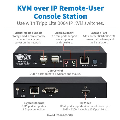 B064-000-STN other view large image | KVM Switch Accessories