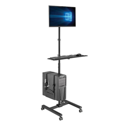 DMCS1732S other view large image | Rolling TV/Monitor Carts