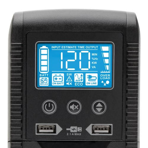 ECO1500LCD other view large image | UPS Battery Backup