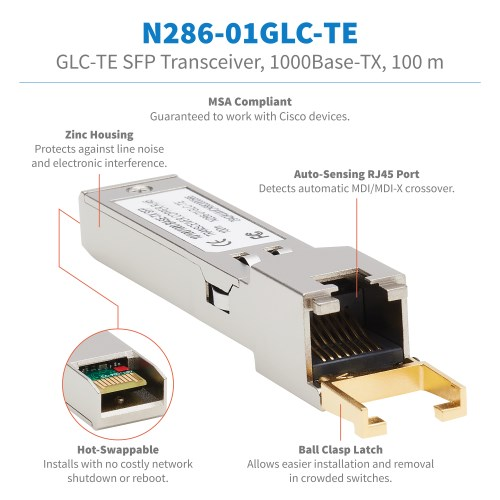 N286-01GLC-TE other view large image | Network Cables & Adapters
