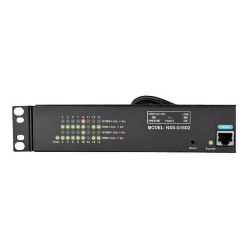 NSS-G16D2 other view large image | Gigabit Ethernet Switches