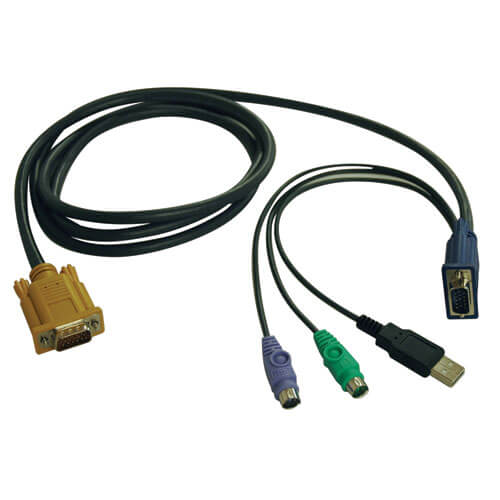 P778-015 front view large image | KVM Switch Accessories