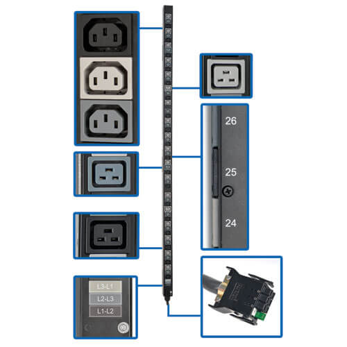 PDU3V20D354B callout large image | PDU Accessories