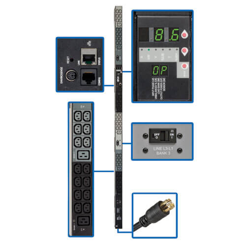 PDU3VN6L2130B callout large image | Power Distribution Units (PDUs)