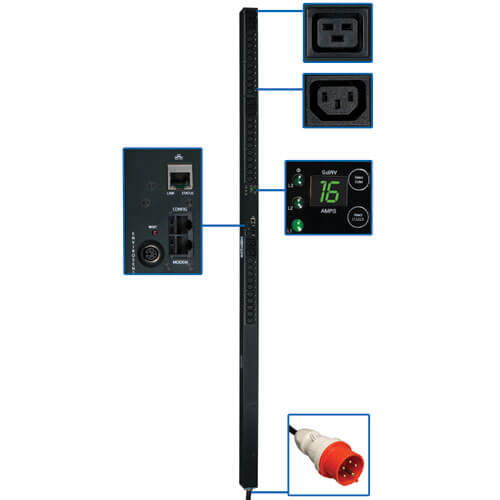 PDU3XVN10G16 callout large image | Power Distribution Units (PDUs)