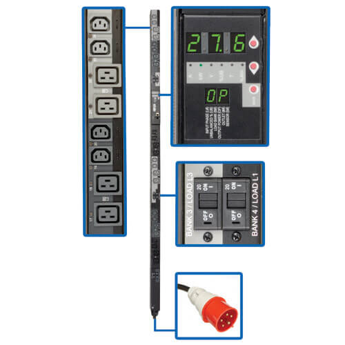 PDU3XVSR6G30A callout large image | Power Distribution Units (PDUs)