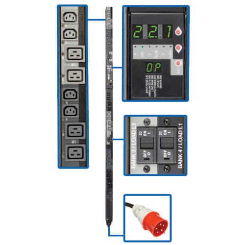 PDU3XVSR6G32A callout large image | Power Distribution Units (PDUs)