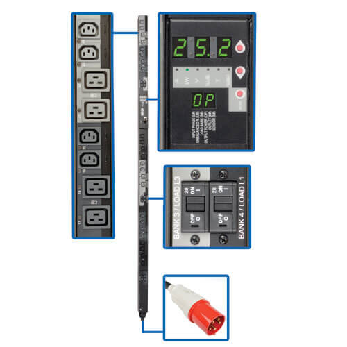 PDU3XVSR6G60A callout large image | Power Distribution Units (PDUs)