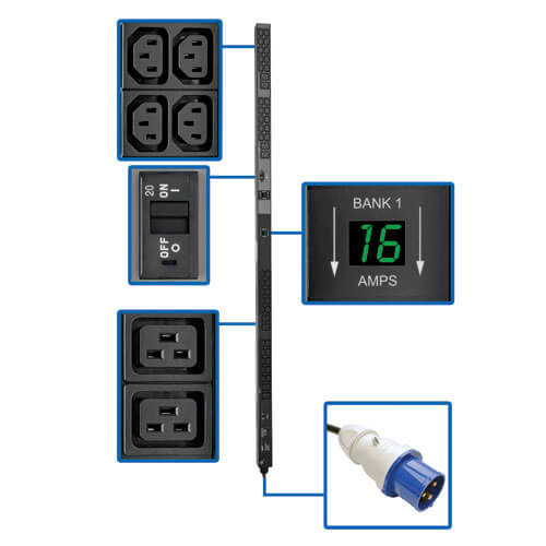 PDUMV32HV callout large image | Power Distribution Units (PDUs)