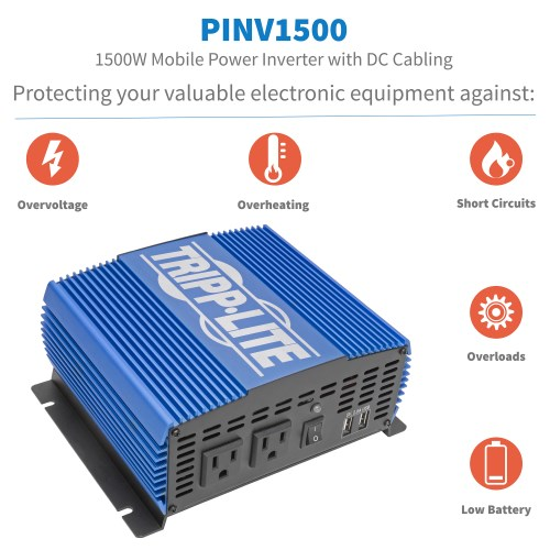 PINV1500 other view large image | Power Inverters
