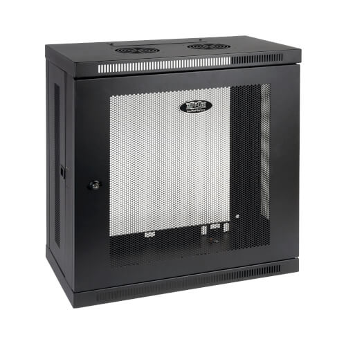 12u Server Rack Cabinet Low Profile Patch Depth Wall Mount Tripp Lite