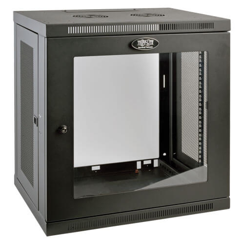 Server Rack Cabinet Switch Depth Wall Mount 12u Window Tripp Lite