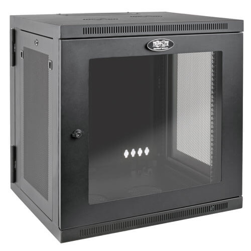 12u Server Rack Cabinet Ups Depth Wall Mount Window Tripp Lite