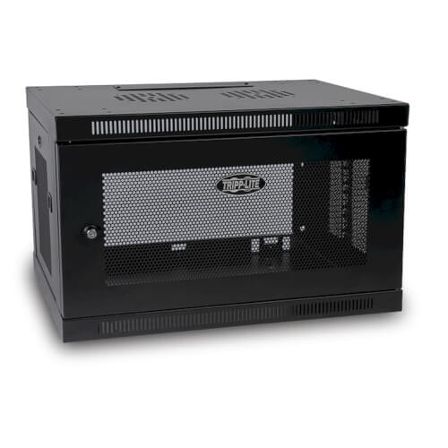 6u Wall Mount Rack Cabinet For Network Switches Lockable Tripp Lite