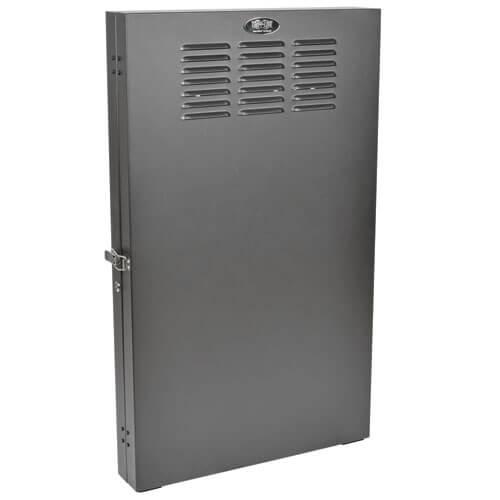 SmartRack 2U Low Profile Vertical Mount Server Depth Wall Mount Rack