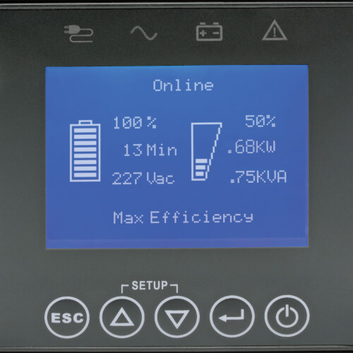 SUINT1000LCD2UN other view large image | UPS Battery Backup