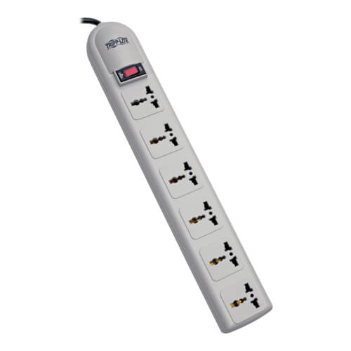 Protect It Surge Protector 6 Outlet 750 Joules British Plug Tripp Lite