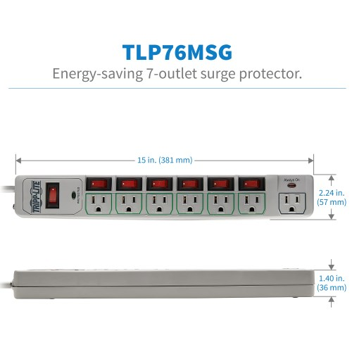 TLP76MSG other view large image | Surge Protectors