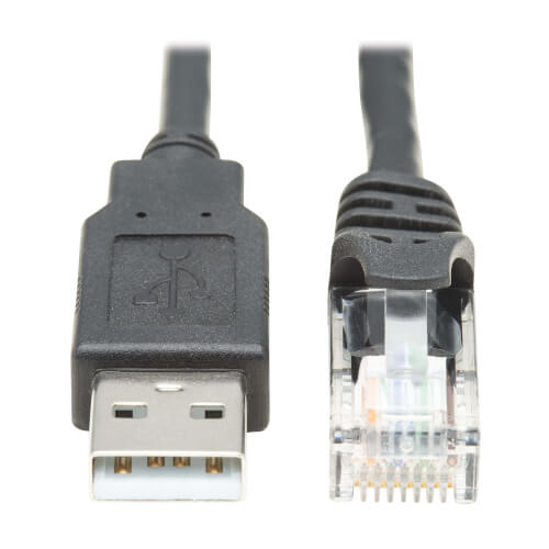 U009-006-RJ45-X front view large image | Network Cables & Adapters