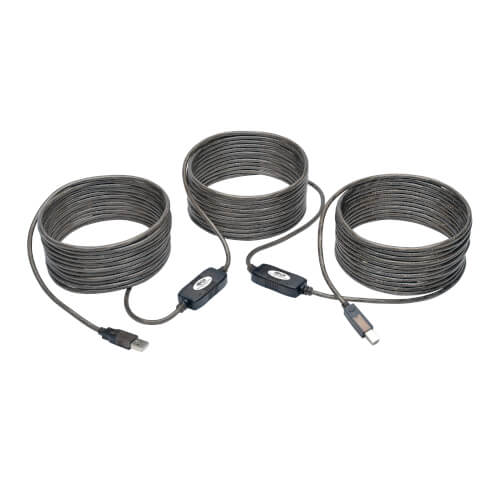 50ft USB 2.0 Extension /& 10ft A Male//B Male Cable for Okidata Microline 18320 395 420 320turbo 184T 491 Printer