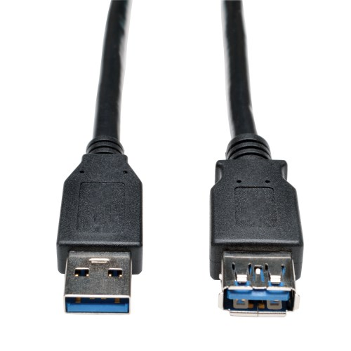 Brand New 6ft 6 feet USB A Male to A Female Data Extension Cable Black