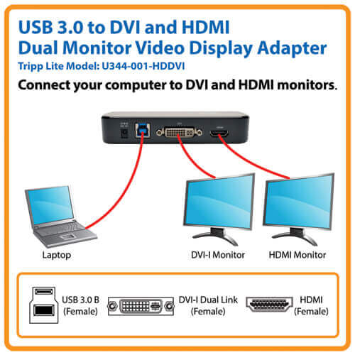 U344-001-HDDVI other view large image | USB Adapters