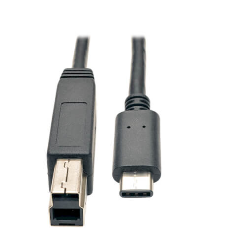 Type-c Male to USB B Type Male Data Cable Cord Phone Printer In US VE