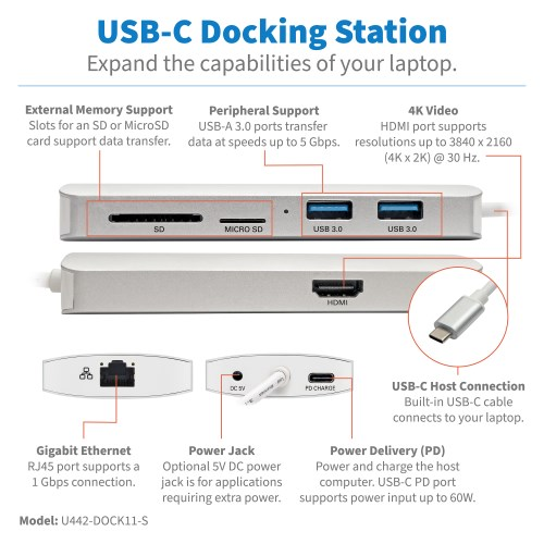 U442-DOCK11-S other view large image | Digital Signage & Audio/Video