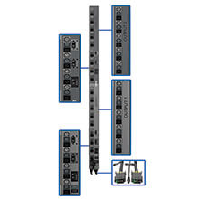 Tripp Lite PDU Accessories - 3Ph PDU 0U Strips