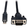 Mini DisplayPort 1.2 to VGA Active Adapter Cable (M/M), 6 ft. (1.8 m) P586-006-VGA-V2