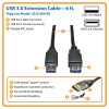 U324-006-BK other view small image | USB, Lightning & FireWire