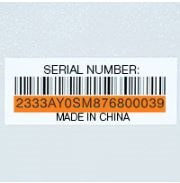 Identify Date Codes, Product Numbers and Serial Numbers